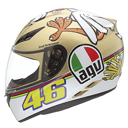 Capacete-Agv-K3-Chicken-Replica