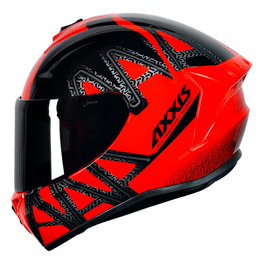 Capacete-Axxis-Draken-Dekers-Gloss-Red-Black